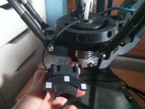 Effector Quickfit for Delta Printer