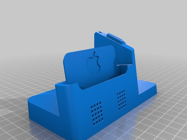 iPhone X & Watch Dock (Case Compatible) by Marsz - Thingiverse