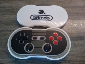 Case for the 8Bitdo NES30 Pro Gamepad