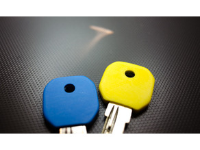 Embedded-key cap/cover for a square-hed(28.4mmx28.7mm) key