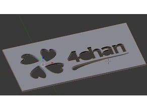 4chan Spray Paint Stencil