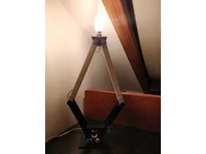 Adjustable Lamp Stand