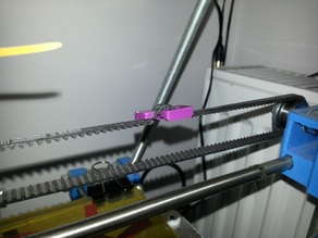 Little simple belt tensioner.