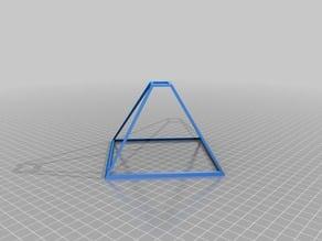Smartphone hologram frame