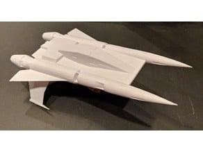 Buck Rogers Thunder Fighter (printable)