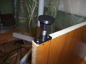 Adjustable leg for table