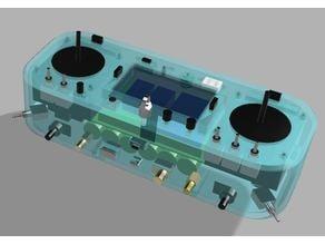 Custom fpv multiprotocol Transmitter based on TGY9X