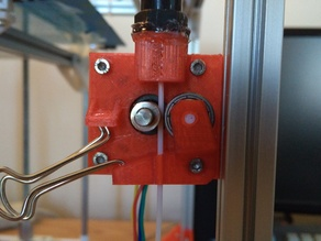 Super Simple 1.75mm Bowden Extruder
