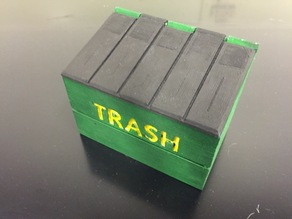 Business Card Holder Dumpster