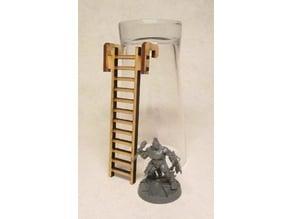 Ladder 8cm for 3mm laser cut MDF #2