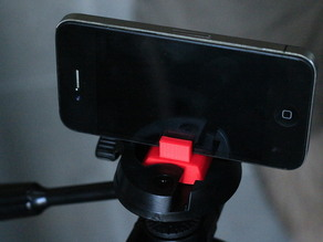 iPhone to Tripod Quick Release Adapter