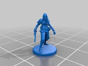 Humanoid Cultist Miniature 1