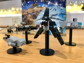 Display Stands for LEGO Star Wars Advent Calendar 2017 (Four Different Sizes)