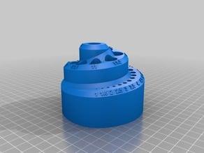 25 pc Metric Spiral Drill Bit Holder 25pc