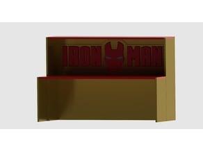 Iron Man collectible display shelf riser