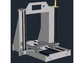 Aluminium-Frame for the CTC i3 DIY