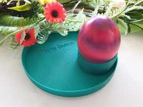 Happy Easter  egg dish