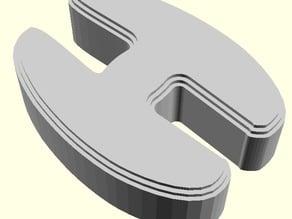 Improved Printable Panel Clip for Lulzbot Mini 3D Printer