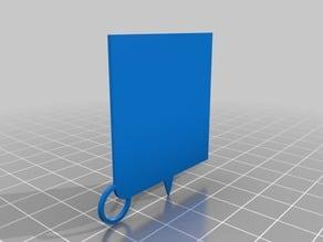Caveira Emblem Keychain