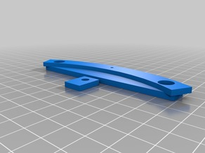 Anycubic kossel 200mm heated bed mounts for delta printer