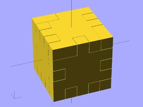 Ekobots - Wooden cube puzzle