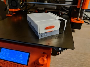 Screwless NES Pi 3 Case with Fan