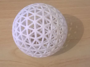 3d Printed Ping-Pong Ball