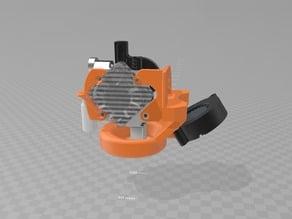 FT-6 E3D TITAN AERO VOLCANO Part Cooling Fan Ring (5015)