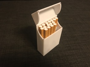 Magnetic Cigarette Box