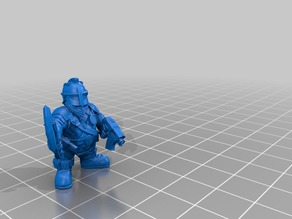 Space Dwarf Warriors