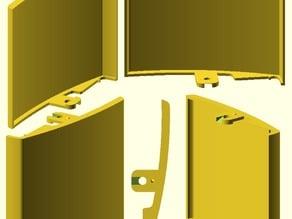 Pulsador cisterna empotrada