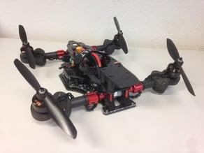 TILT PRO Racer 3D printed parts