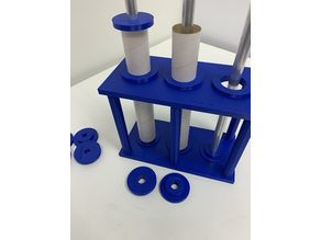 Casting Rack for 38mm and 54mm EX rocket motors
