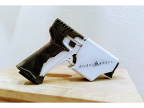 Upgrade of Thermoptic pistol from Ghost In The Shell