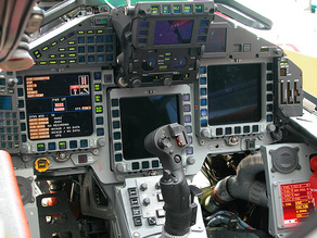 Eurofighter Cockpit  3D Printed