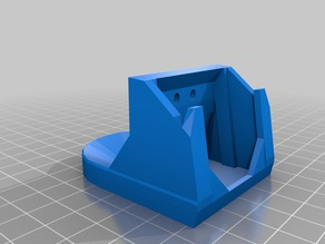 Tighter Solidoodle mk5 Extruder Fan Shroud
