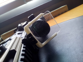 Airsoft scope protection mount