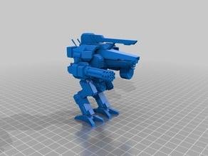 1/72 scale cyclops mech