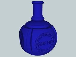 Hayward's hand fire grenade