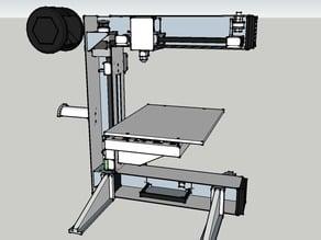 Eventorbot BluePrint SketchUp