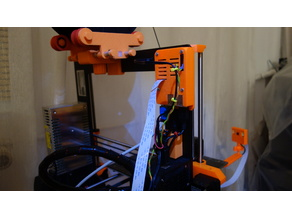 Prusa i3 MK2 camera, light and remote control