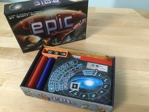 Tiny Epic Galaxies box organizer