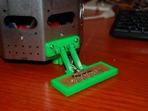Line sensor holder