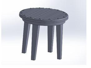 Mesa redonda Playmobil