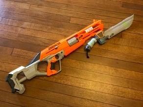 Nerf Gun Bayonet Bracket