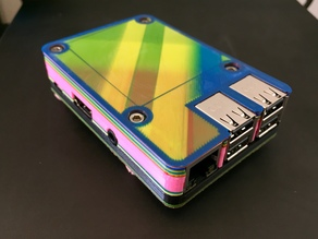 Raspberry Pi 3 B Case by jayftee