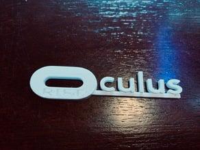 Oculus Rift Name Tag
