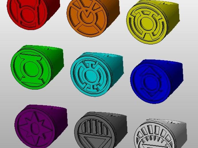 Lantern corps rings