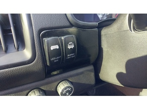 2015+ Chevy Colorado Switch Plate