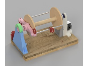 Electric Spinning Wheel